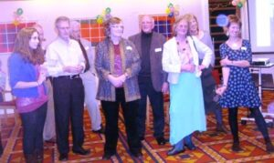 some members at the 20th anniversary of WiO