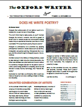 Thumbnail of The Oxford Writer, December 2013