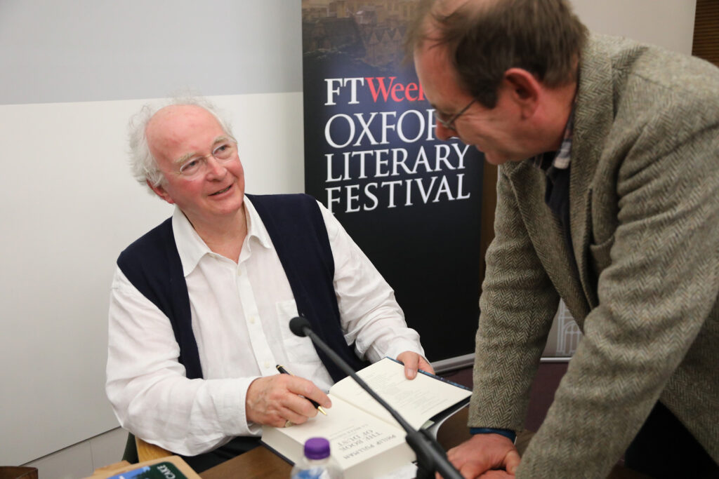 Philip Pullman with Martin Stott